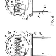 13 Terminal Meter Socket Wiring Diagram 1989 Ford Mustang Alternator Patent Us6488535 Adapter With Connections