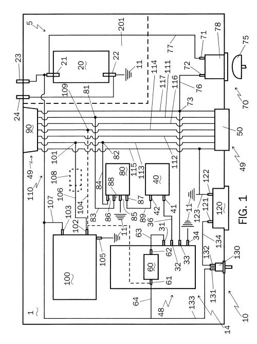 small resolution of tekonsha breakaway system wiring diagram 40 wiring diagram imagesus06499814 20021231 d00001 patent us6499814 brake control system