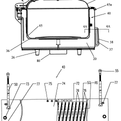 Oven Heating Element Wiring Diagram Static Nurse Call System Roaster Scooter Engine Santa
