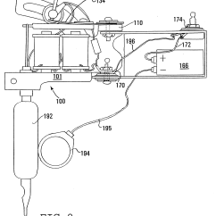 Tattoo Machine Wiring Diagram Plug In Patent Us6550356 Technology Google Patents