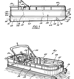 pontoon boat schematics wiring diagrams second pontoon boat schematics pontoon boat diagram wiring diagram operations patent [ 2838 x 3690 Pixel ]