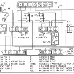 Wiring Diagram For Ac Unit Thermostat Tao 150 Atv Patent Us6606871 - Twinning Interface Control Box Kit Twinned Fan Coils In Dual Heat Pump ...