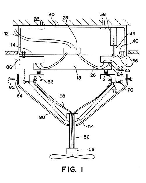 small resolution of us06634901 20031021 d00001 patent us6634901 quick connect device for electrical fixture encon ceiling fan wiring diagram