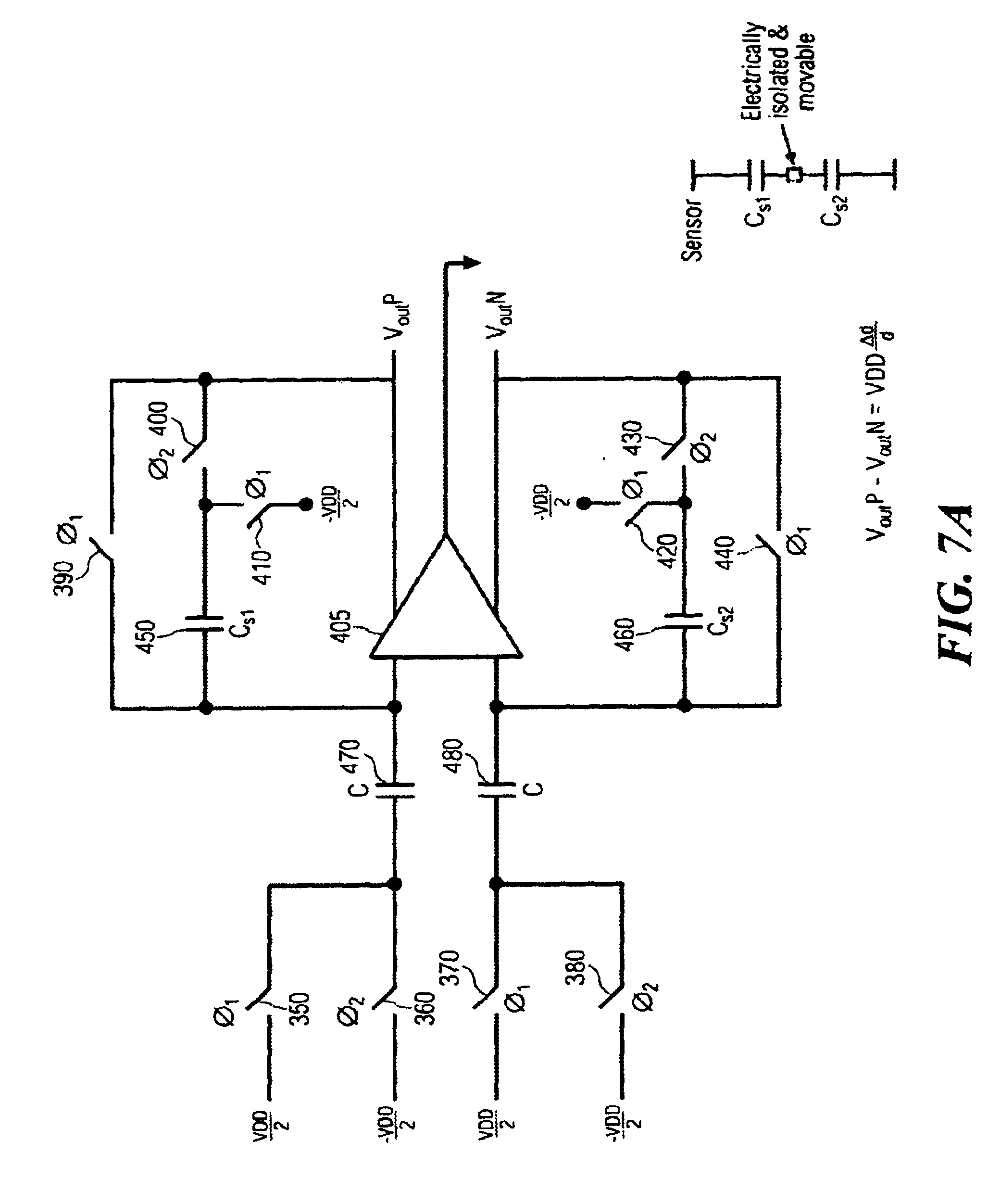 noninverting operational amplifier circuit with capacitor coupled