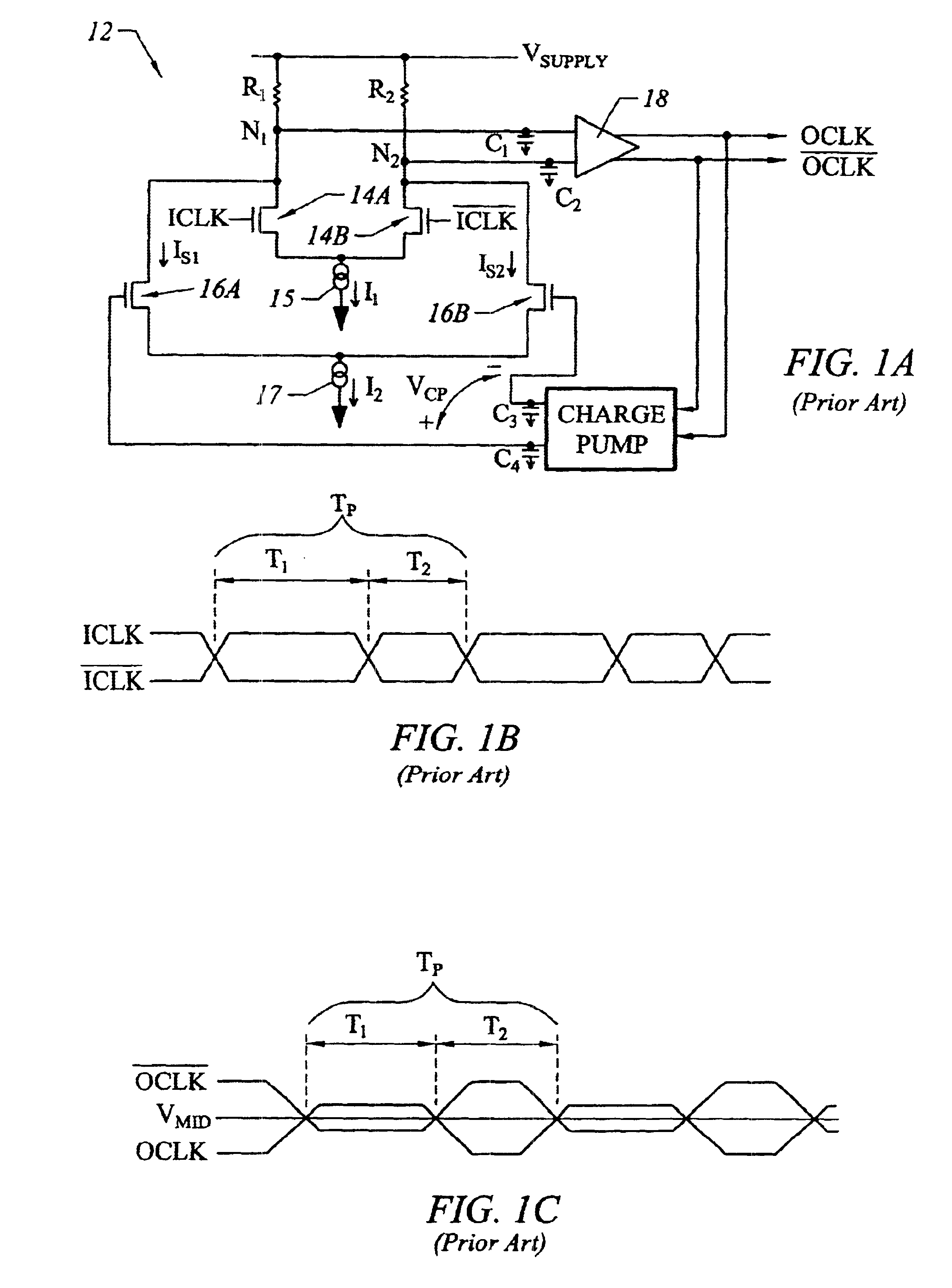 Patent US6643790 - Duty cycle correction circuit with frequency-dependent bias generator - Google Patents