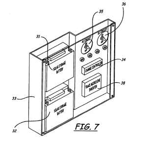 Patent US6646196  Window structure with photovoltaic panel  Google Patents