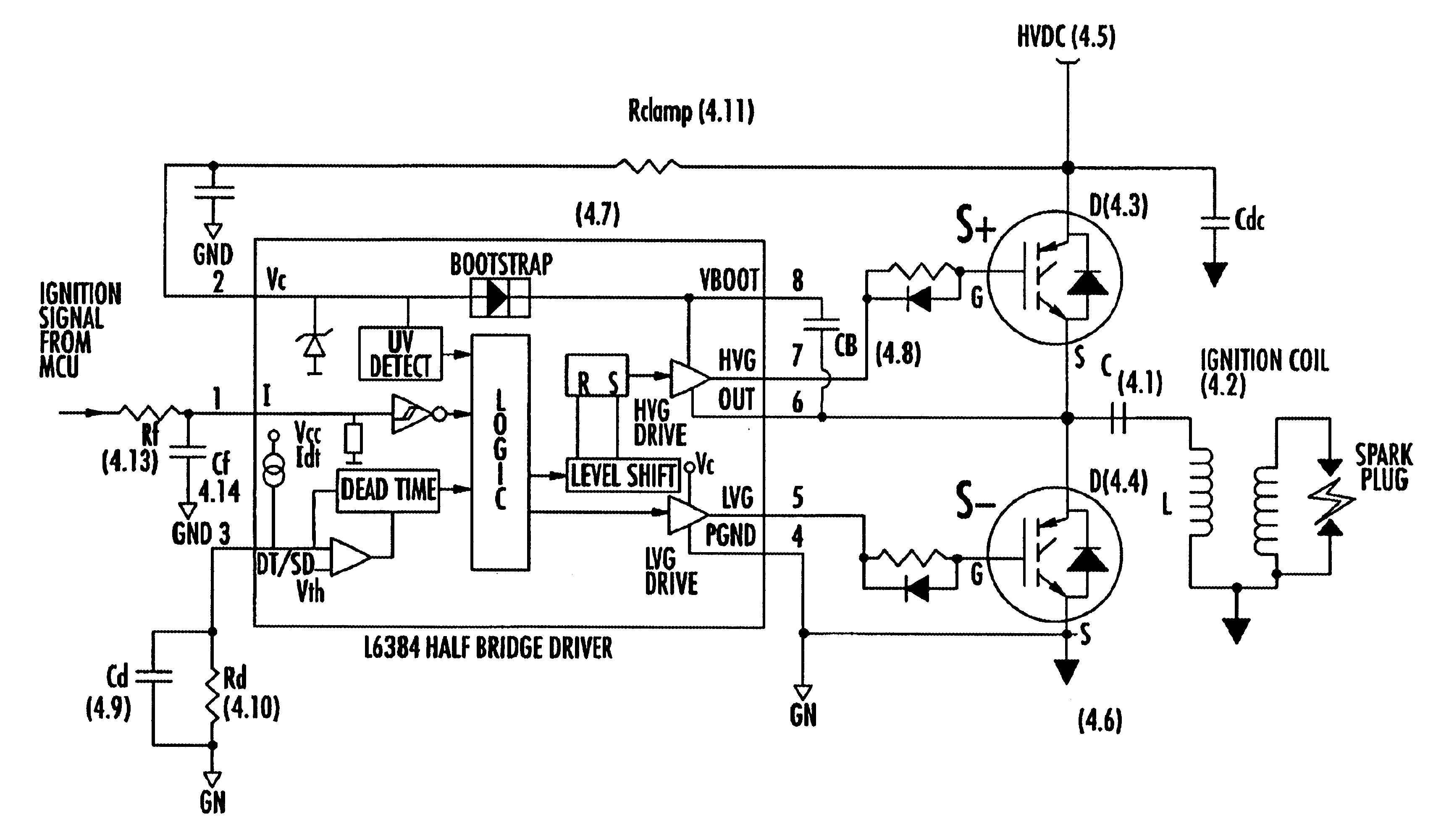 cdi ignition wiring diagram of the spine and vertebrates patent us6662792 capacitor discharge