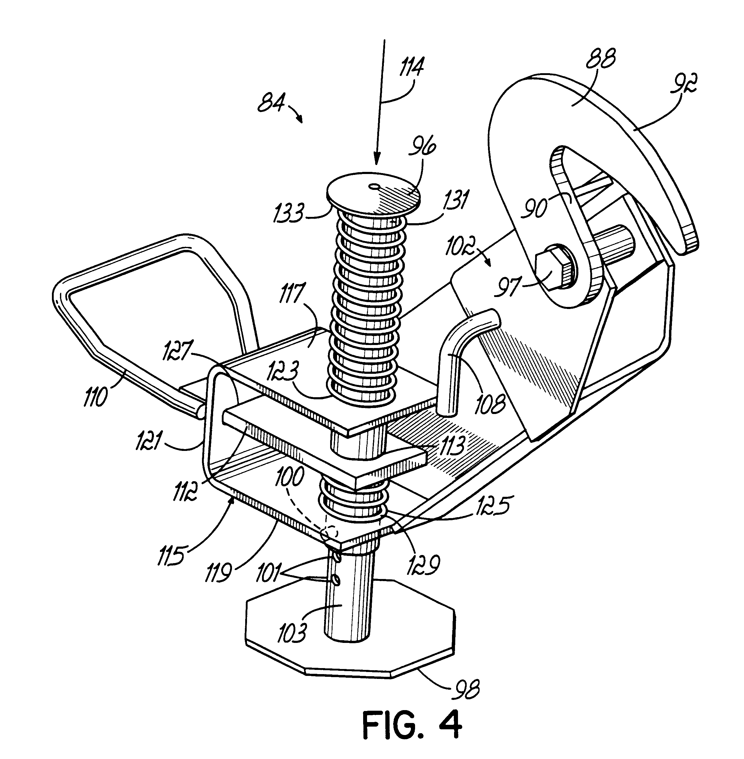 Patent us6711837 snowplow mounting assembly patents