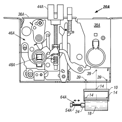 Mortise Lock Parts Diagram Triumph Bonneville Wiring Patent Us6732557 Electrified Having A