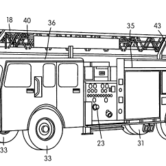 Extension Ladder Parts Diagram Farmall Super A Wiring Patent Us6755258 Aerial Fire Fighting Apparatus