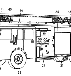 patent us6755258 aerial ladder fire fighting apparatus [ 3639 x 1790 Pixel ]