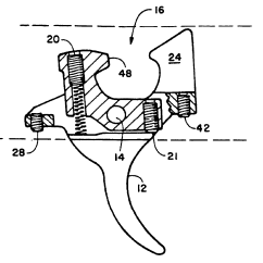 Ak 47 Receiver Parts Diagram L14 30 To L6 Wiring Patent Us6772548 Trigger Assembly For Ak47 Type Rifle
