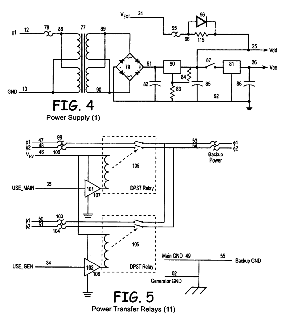 medium resolution of us06825578 20041130 d00003 patent us6825578 state machine controlled automatic transfer westinghouse automatic transfer switch wiring diagram