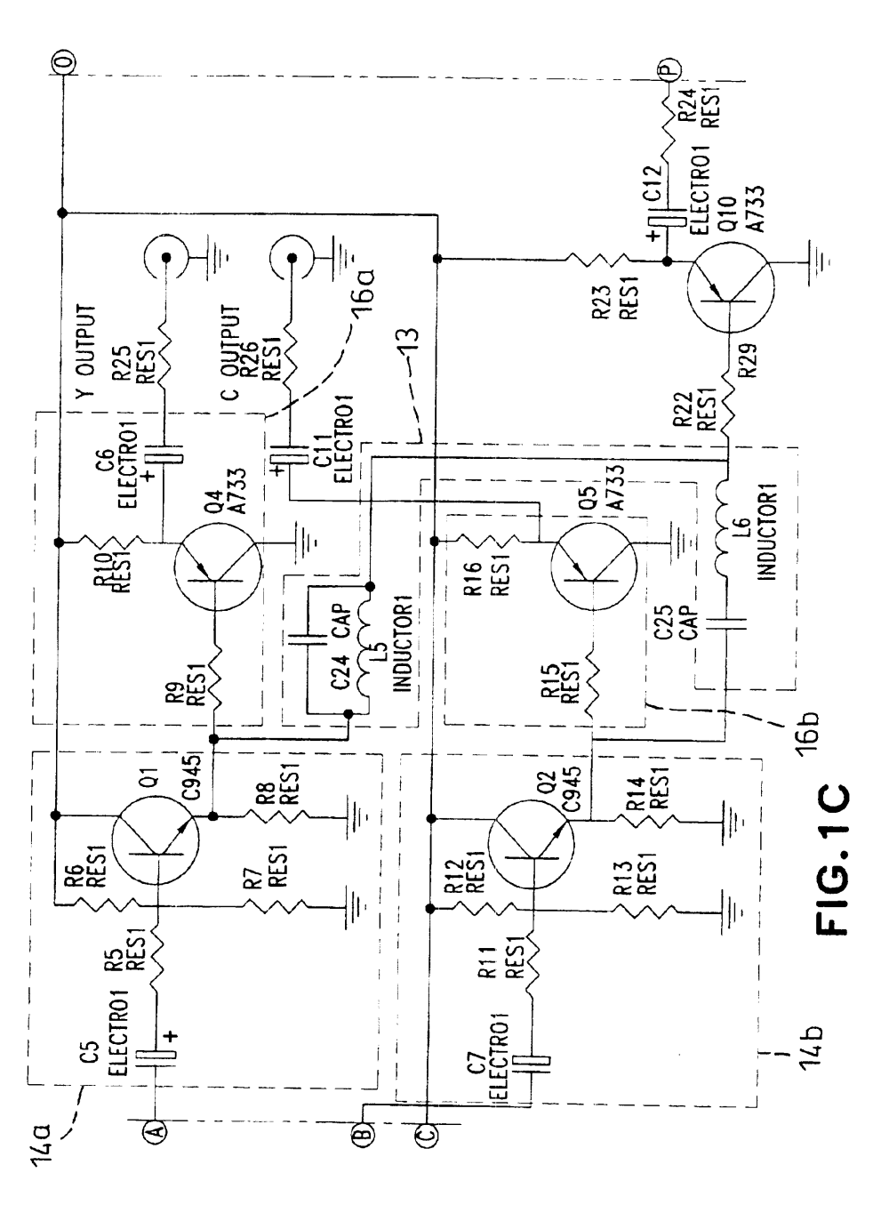 medium resolution of rf to av circuit patent drawing rf to av circuit