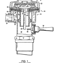 Diagram Of A Toilet Flush System L7 Wiring Patent Us6860282 And Method For Converting