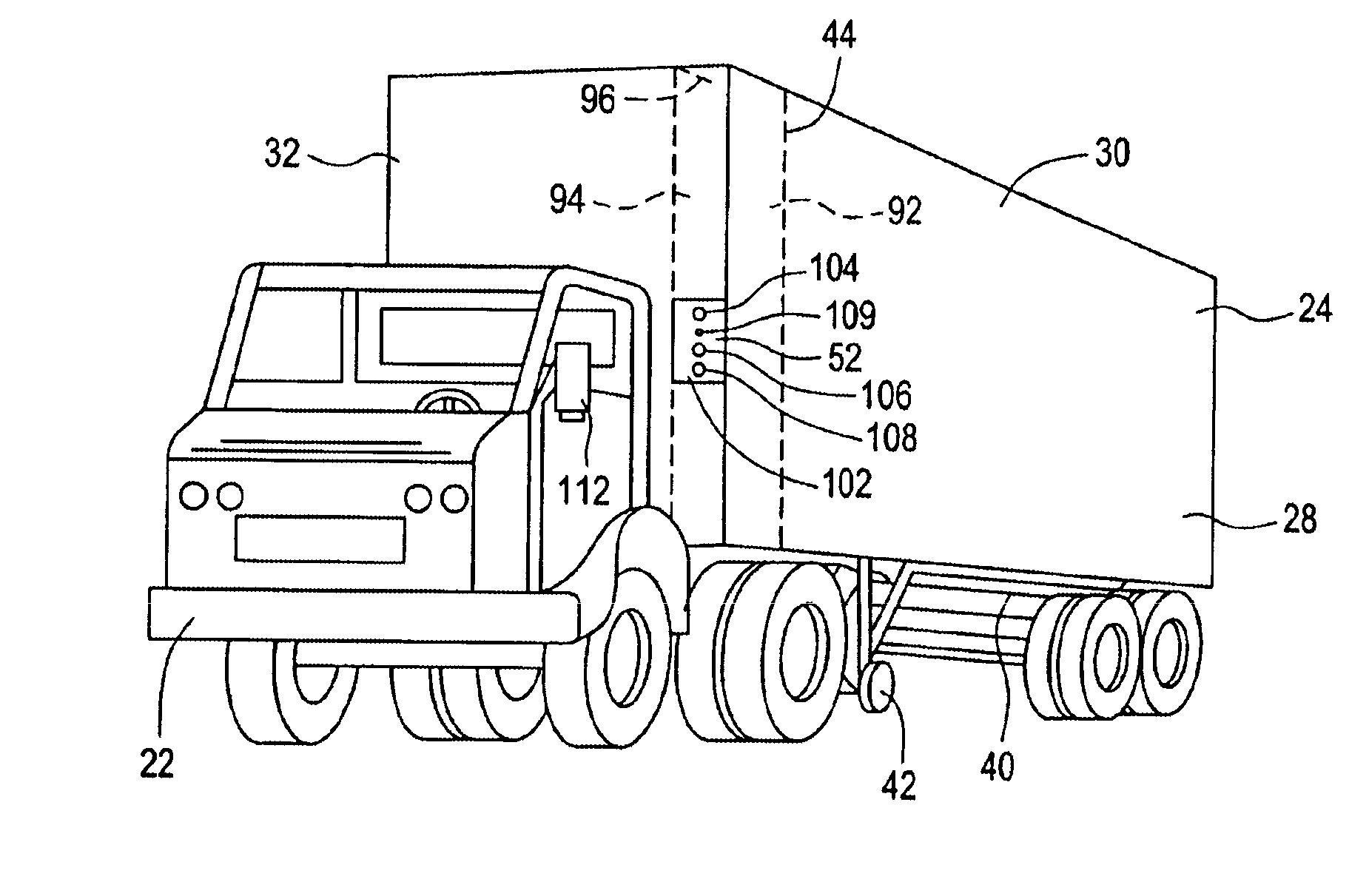 semi truck diagram 1998 honda civic engine lighting free image for