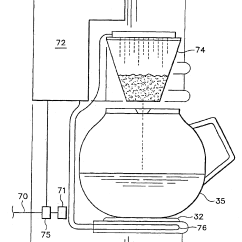 Pots Wiring Diagram 2003 Ford Windstar Patent Us6892626 In Wall Coffee Maker Google Patents