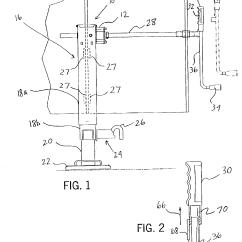 Load Max Gooseneck Trailer Wiring Diagram Circuit Of Home Theater Patent Us6893006 Multi Speed Drop Leg Mechanical Jack