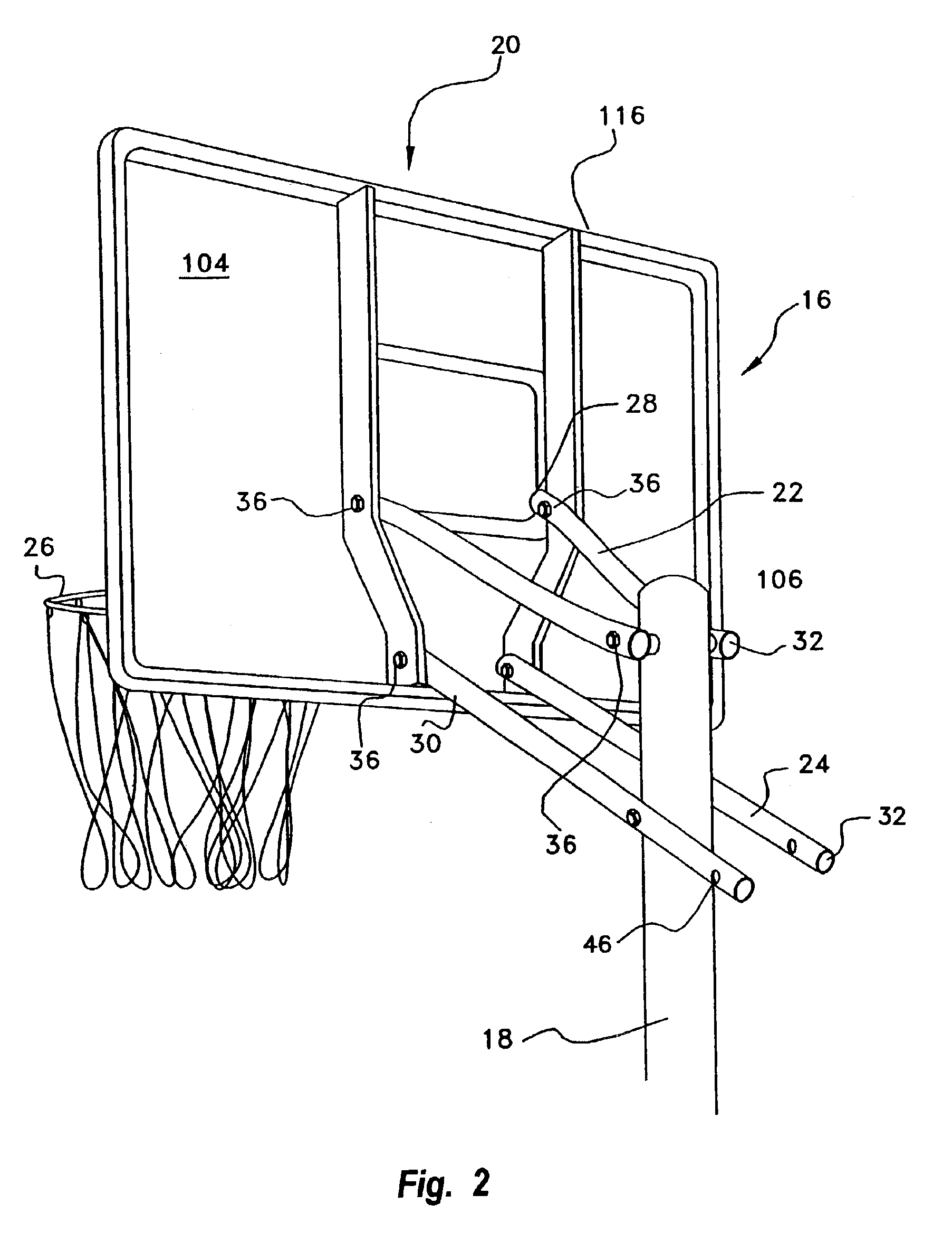 Collapsible Backboard System Thematique