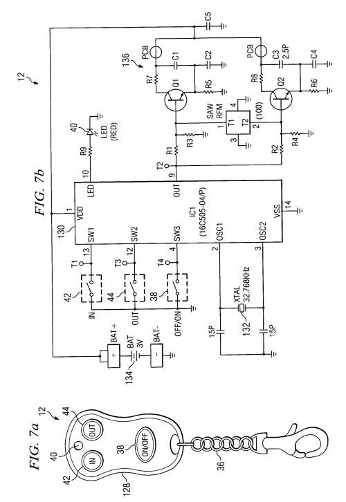 small resolution of us06995682 20060207 d00004 patent us6995682 wireless remote control for a winch google warn warn wireless remote wiring diagram