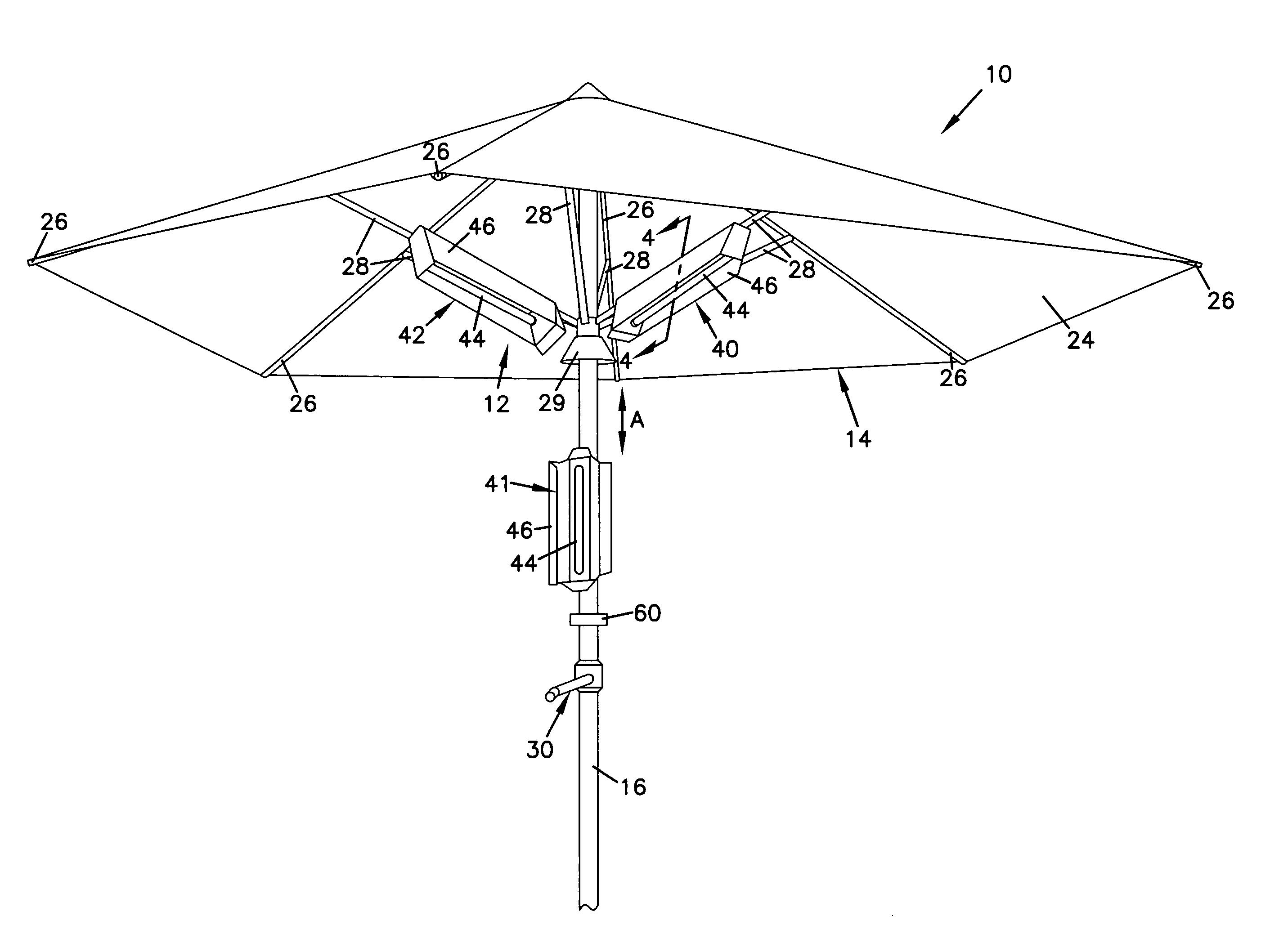 Patio Umbrella Crank Assembly
