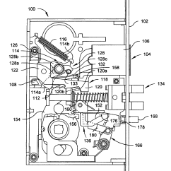 Mortise Lock Parts Diagram Light Bar Wiring 5 Pin Relay Patent Us7007985 Automatic Deadbolt Mechanism For A