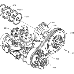 Ez Go Gas Starter Wiring Diagram 1966 Vw Bus Patent Us7063639 Snowmobile Planetary Drive System