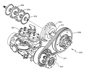 Patent US7063639  Snowmobile plaary drive system  Google Patents
