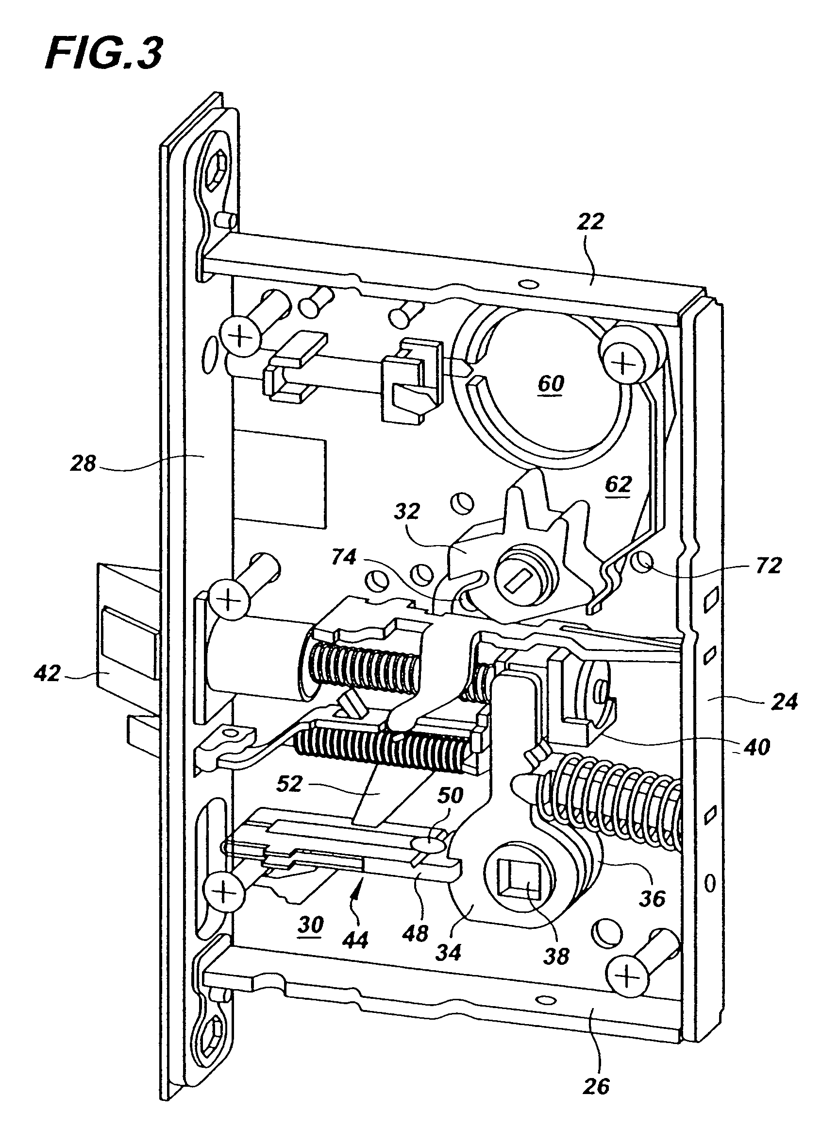 mortise lock parts diagram 700r4 4x4 transmission patent us7188870 multi functional google