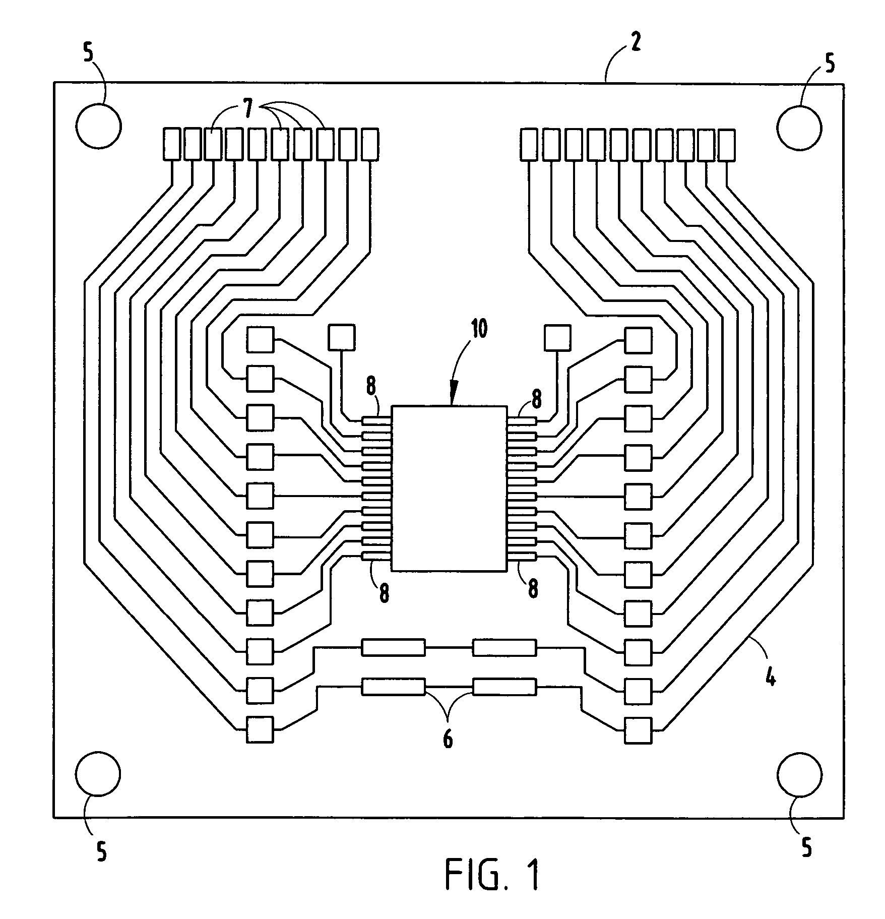 capacitive coupled output
