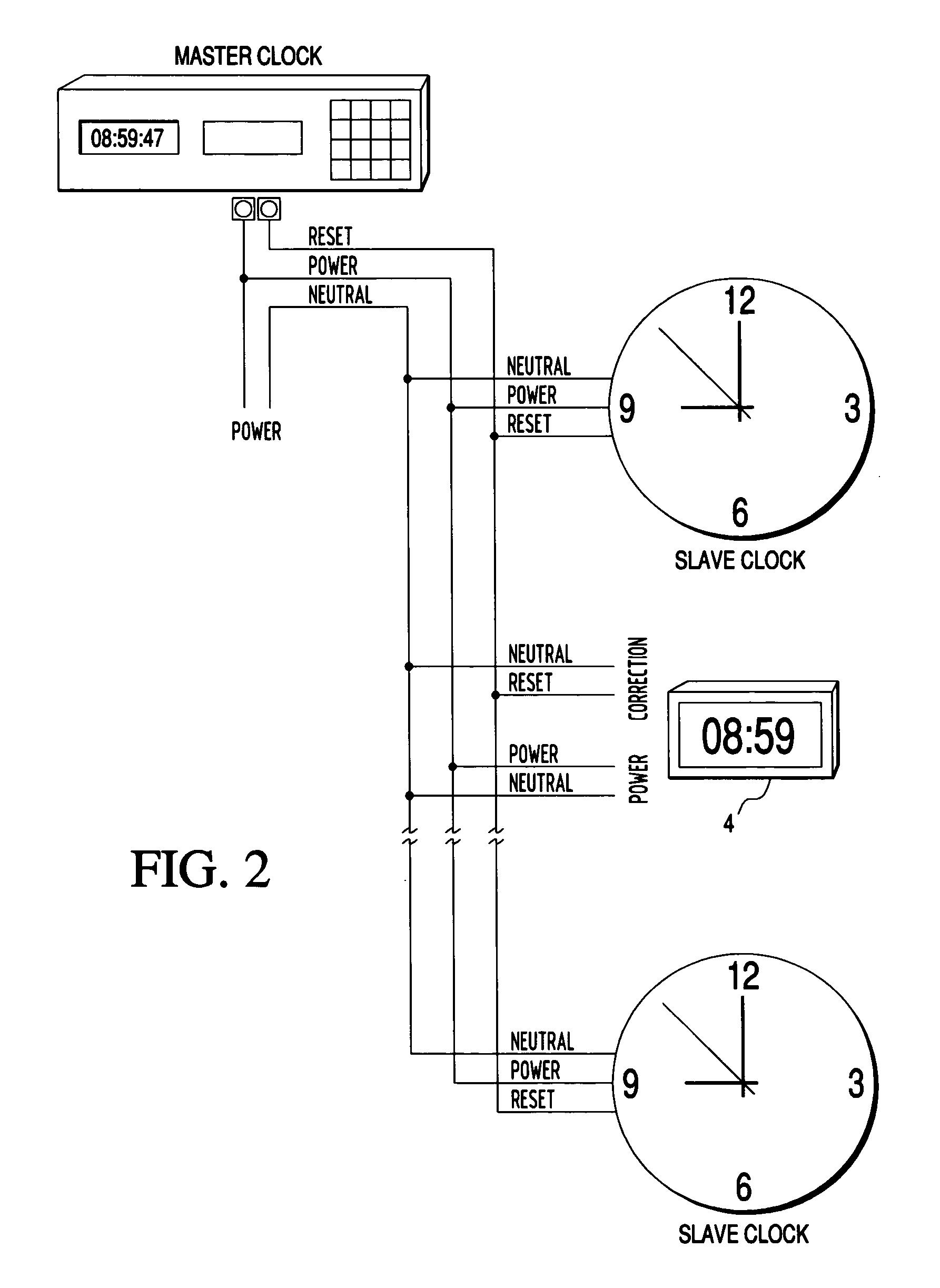 Master Clock System Wiring Diagram, Master, Get Free Image