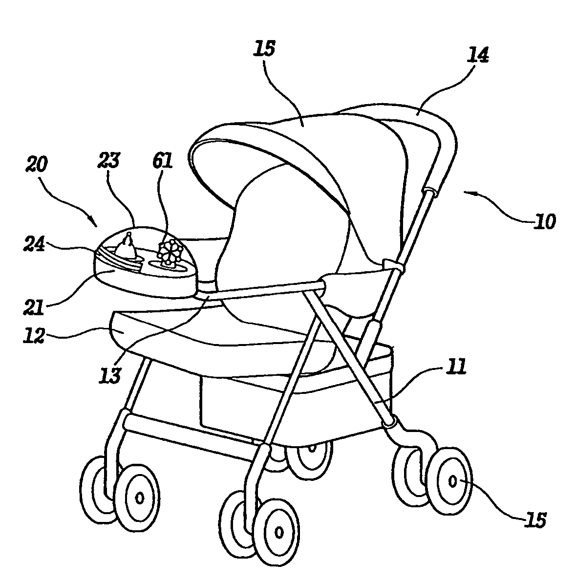 Stroller Coloring Pages Coloring Pages