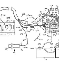 alternator wiring diagram furthermore ford external voltage 12v generator wiring diagram 4 wire alternator wiring diagram [ 2876 x 1938 Pixel ]