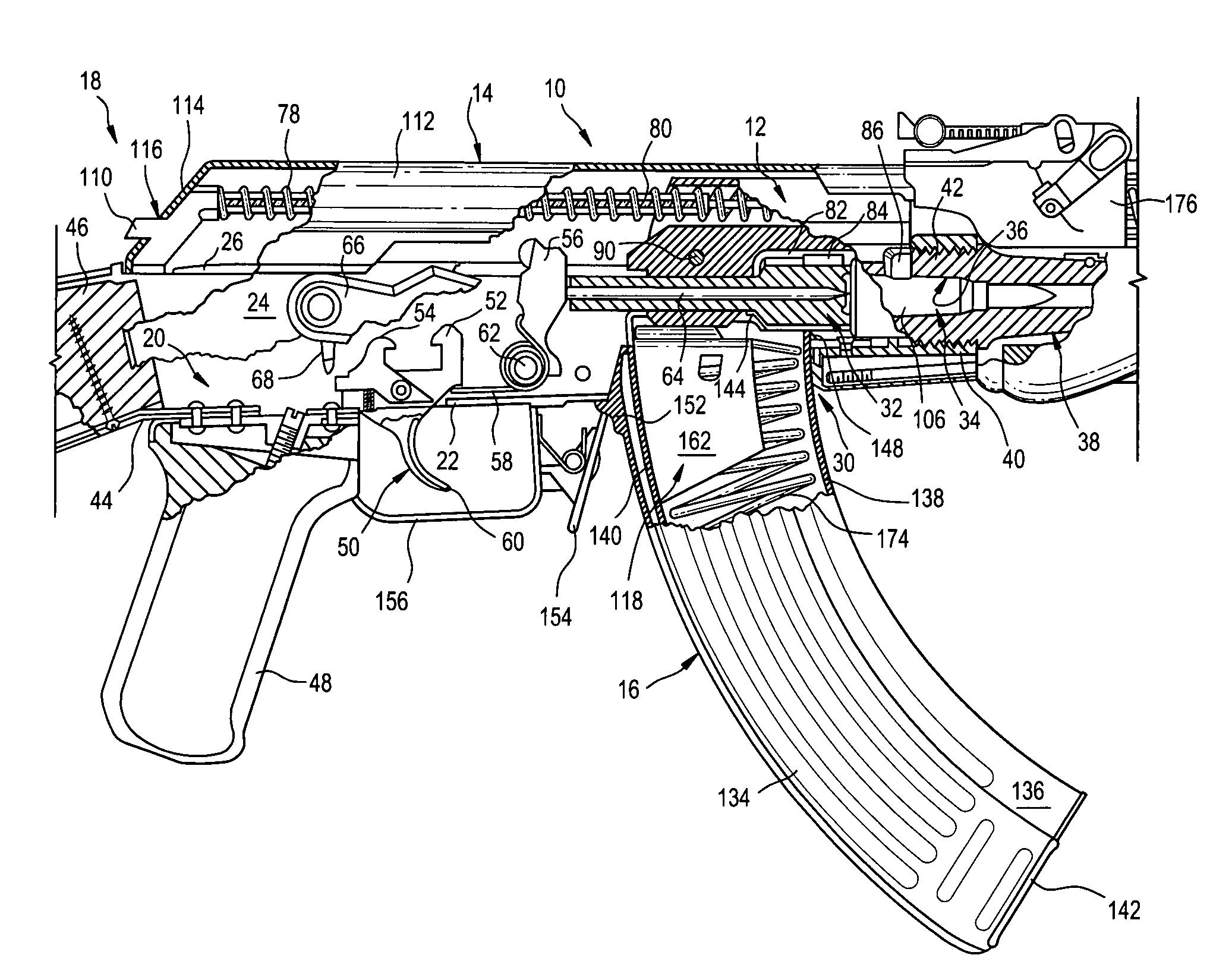 Ak 47 Exploded View Diagram Sketch Coloring Page
