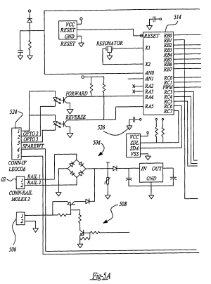 Patent US7298103  Control and motor arrangement for use