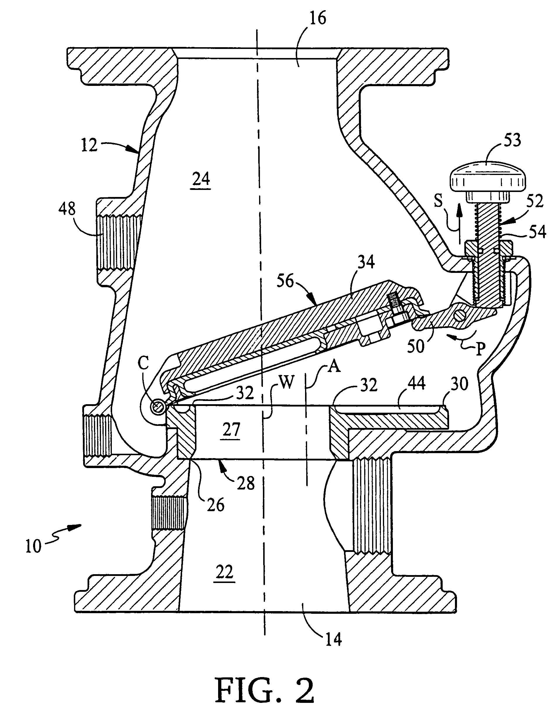 Reliable model c dry pipe valve