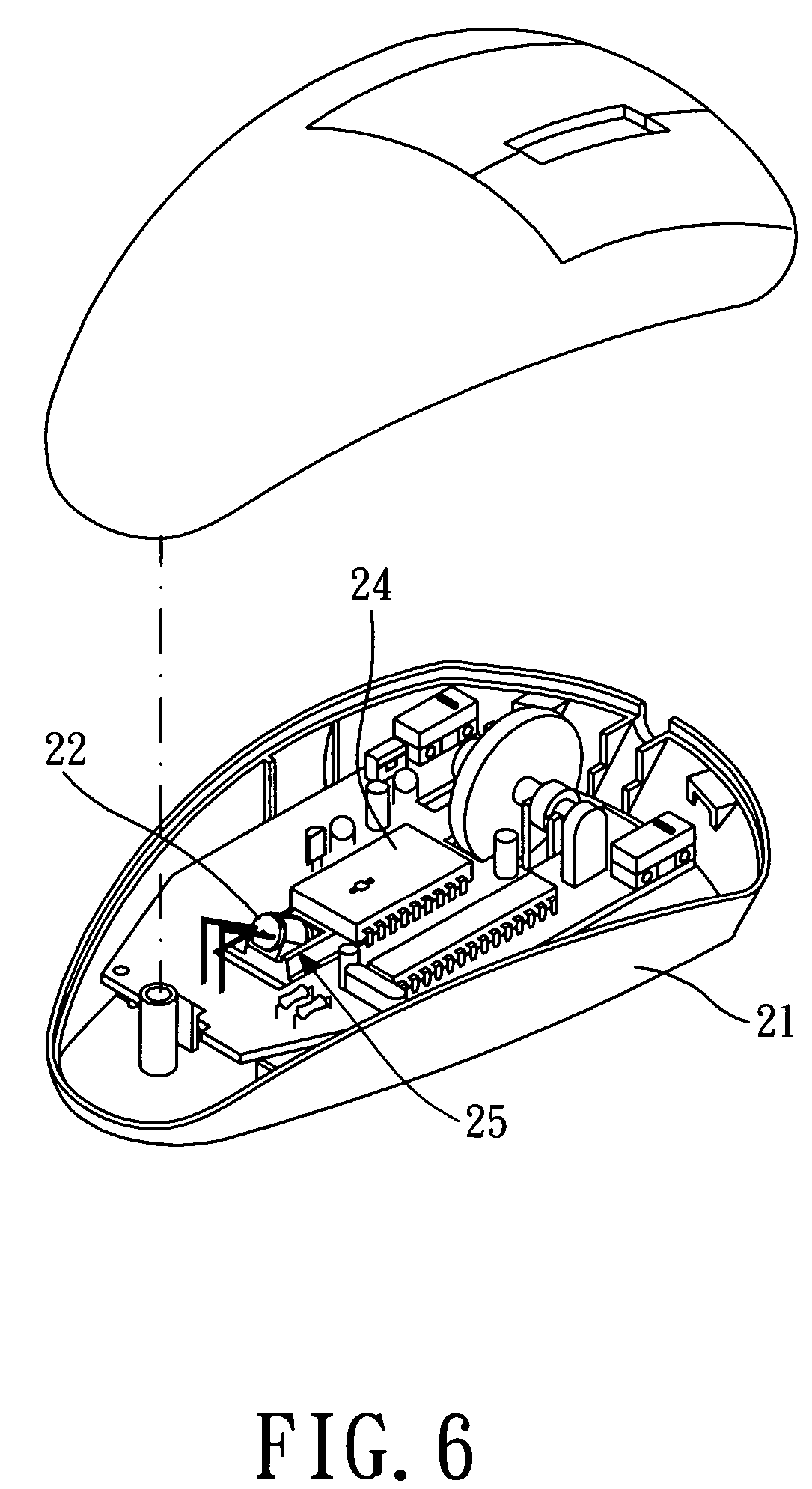 Mechanical Mouse Parts With Names