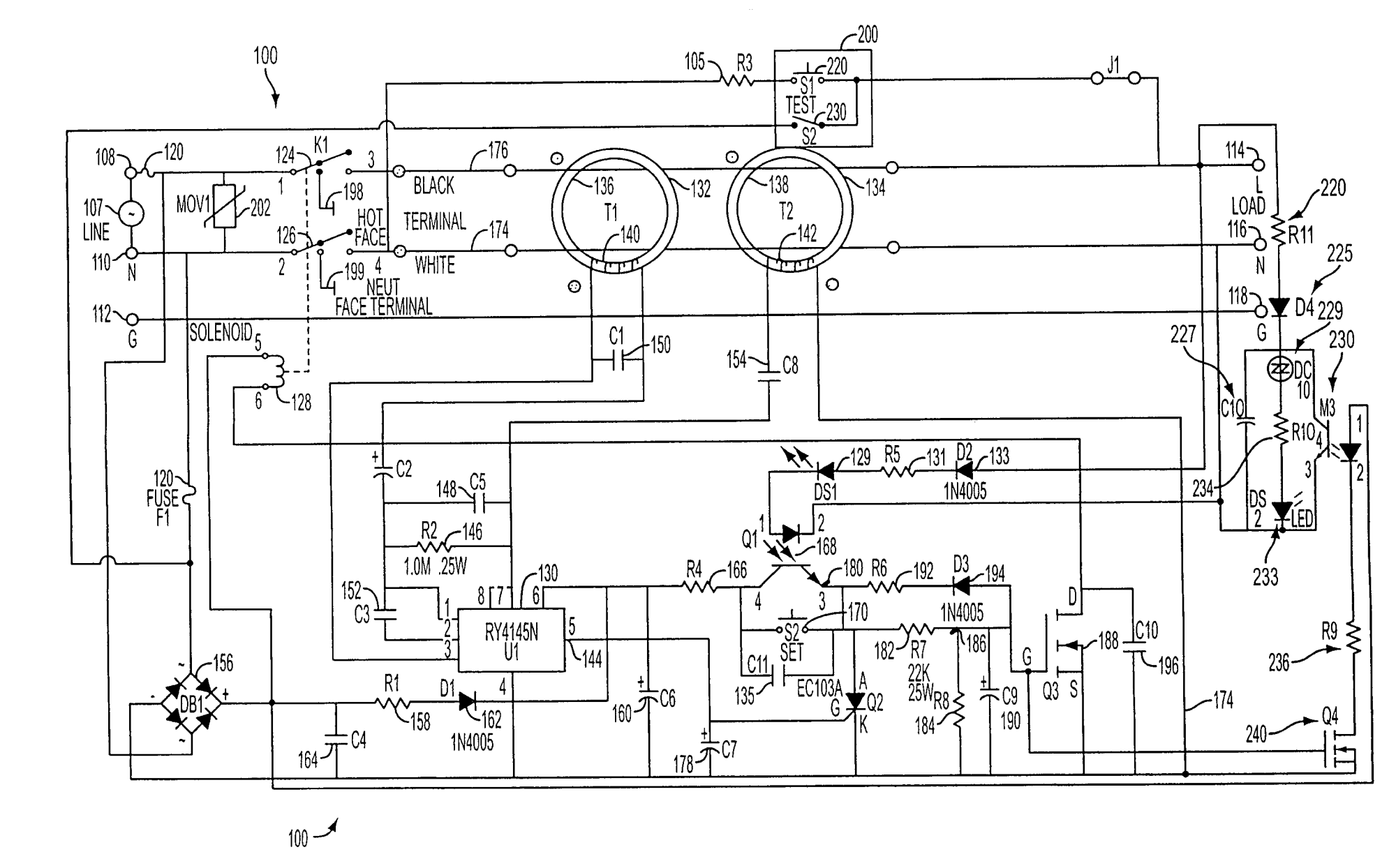 hight resolution of electrical ground fault indicator wiring diagram
