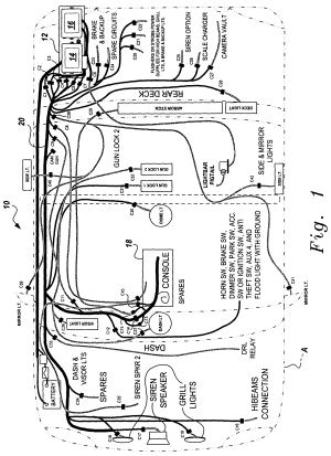 Patent US7342325  Universal fleet electrical system