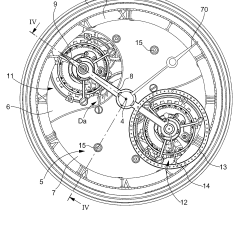 Watch Movement Diagram Nema L14 30p Wiring 2 Patente Us7350966 Including At Least Two