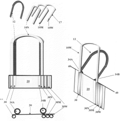 Diagram Of 6 Wicket Croquet A Union B C Venn Patent Us7357737 Removable Replaceable Multiwidth