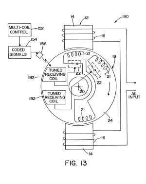 Patent US7375488  Brushless repulsion motor speed control