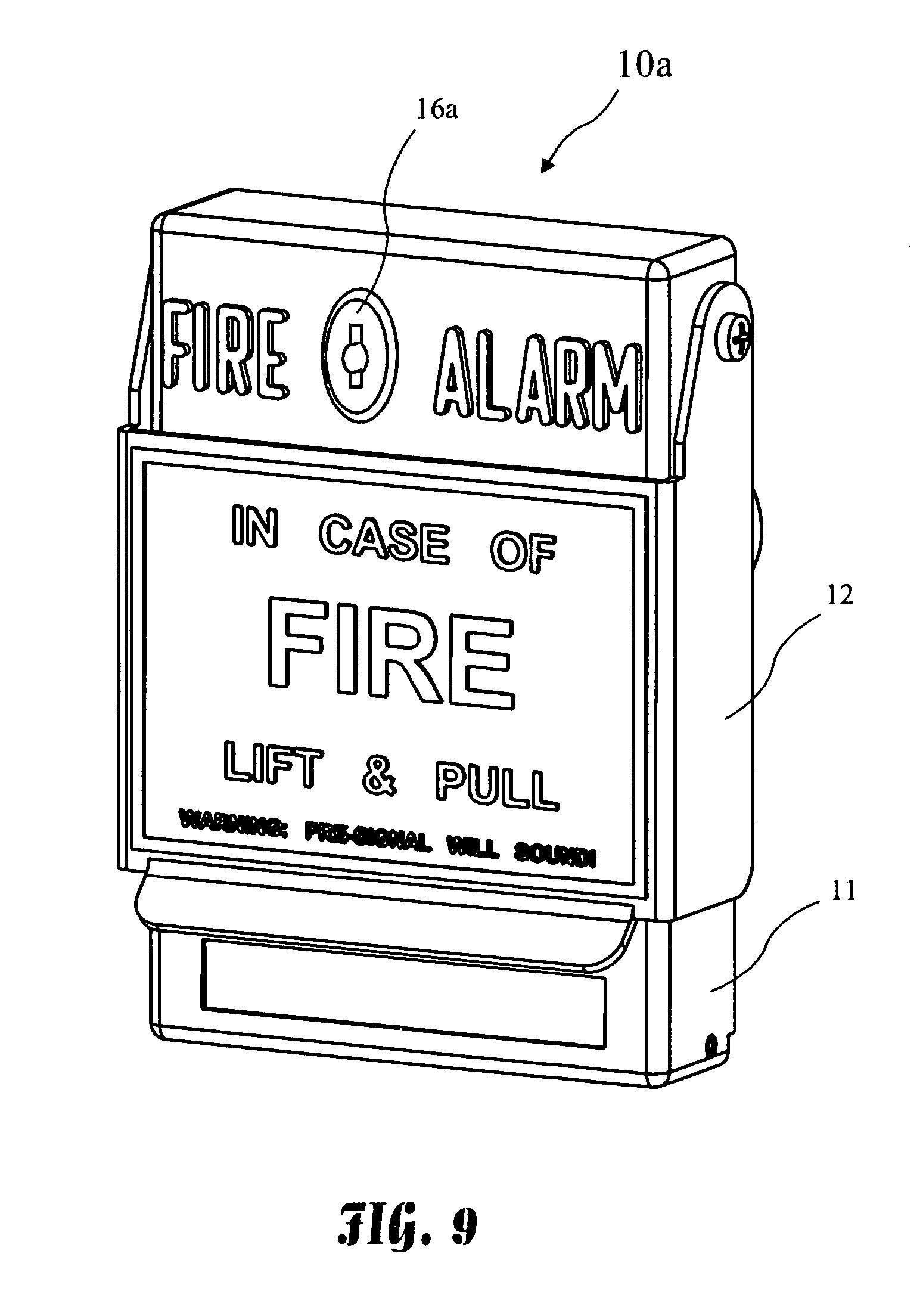 Fire Alarm A Built Drawing