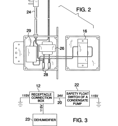 us07419405 20080902 d00002 patent us7419405 dehumidifier safety cut off system google patents clearvue mini pump wiring [ 2221 x 2882 Pixel ]