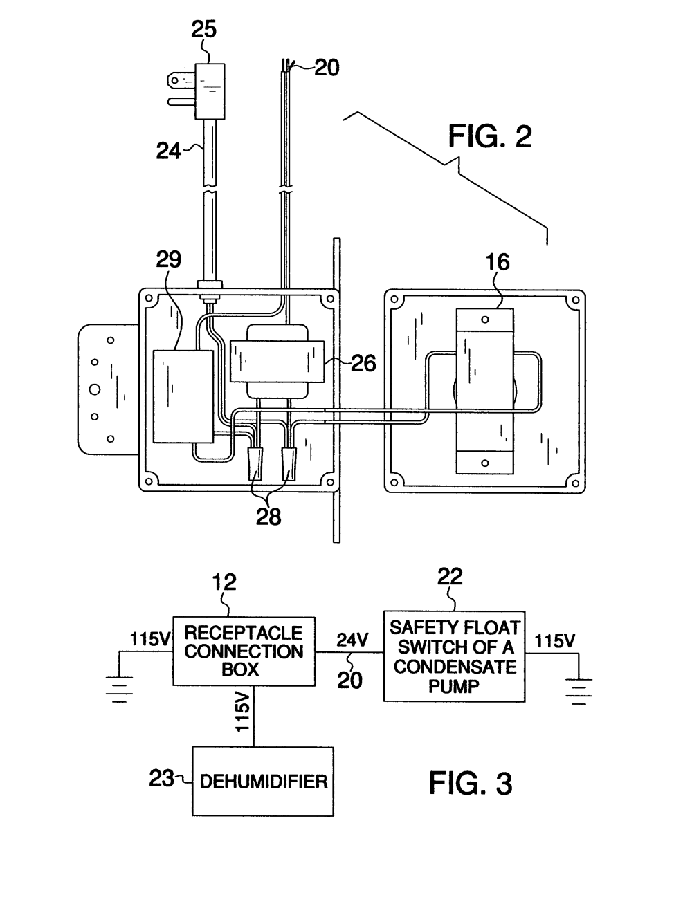 medium resolution of us07419405 20080902 d00002 patent us7419405 dehumidifier safety cut off system google patents clearvue mini pump wiring