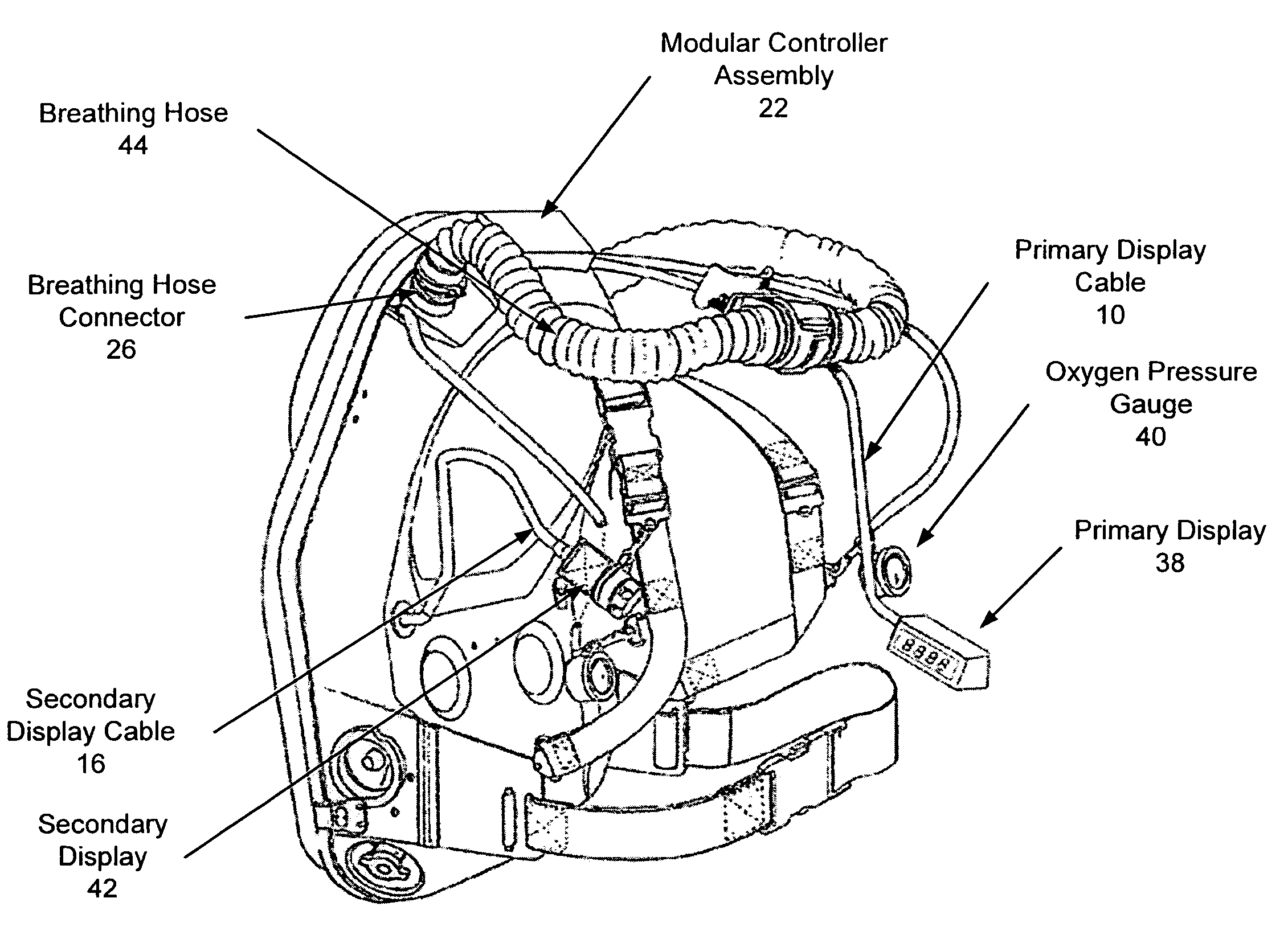 Scott Self Contained Breathing Apparatus Diagram
