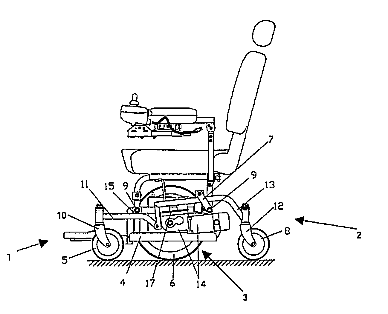 Electric Wheelchair Parts Diagram Pictures To Pin On