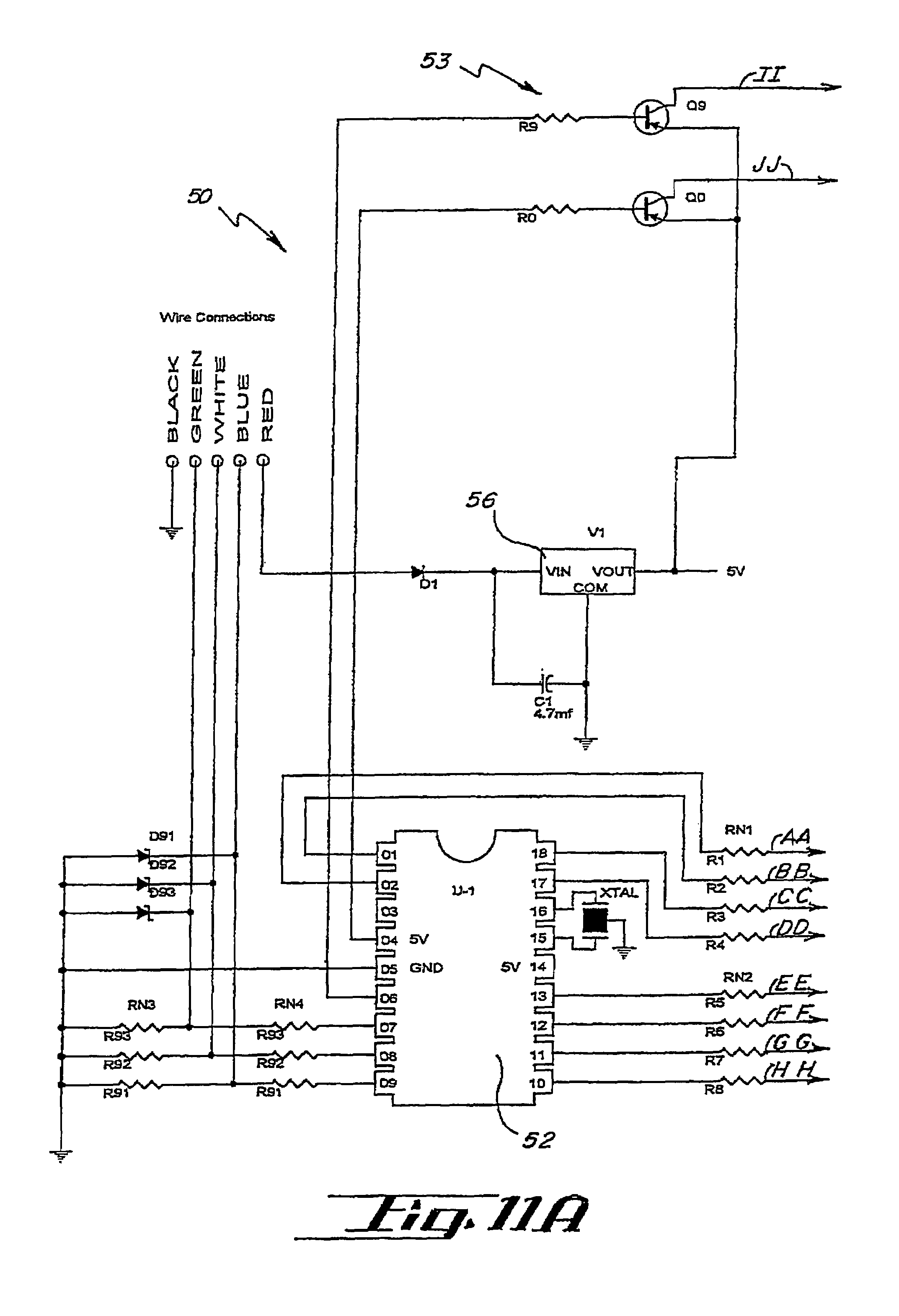 light bar wiring diagram pioneer dxt 2266ub patent us7561036 led warning signal and