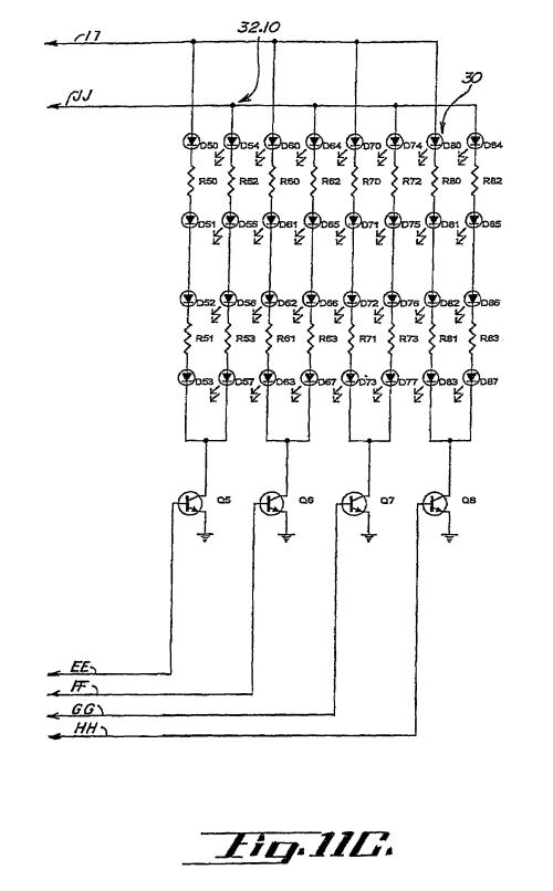 small resolution of us07561036 20090714 d00007 patent us7561036 led warning signal light and light bar google federal signal arrow stick wiring diagram