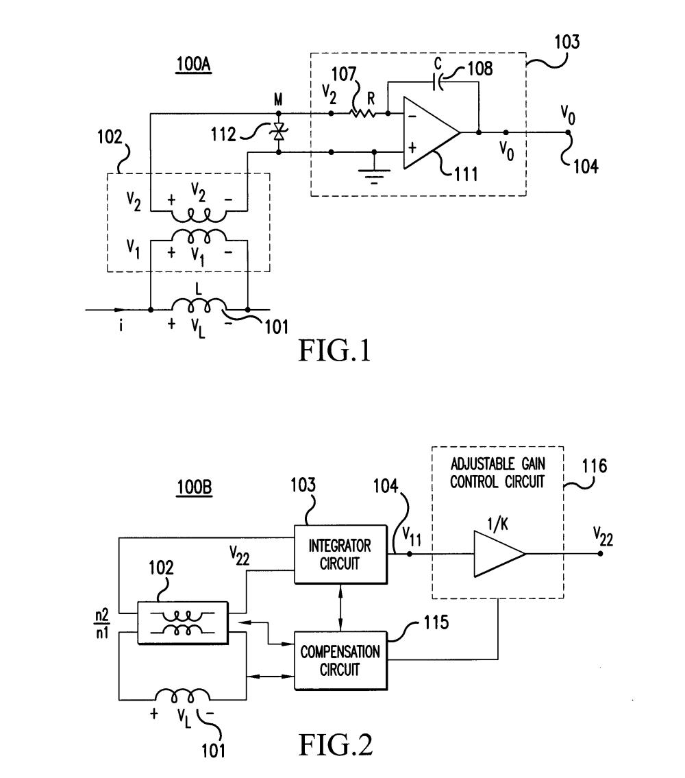 medium resolution of patent us7622910 method and apparatus for ac integrated current current sensors google patente on ac current sensor circuit diagram